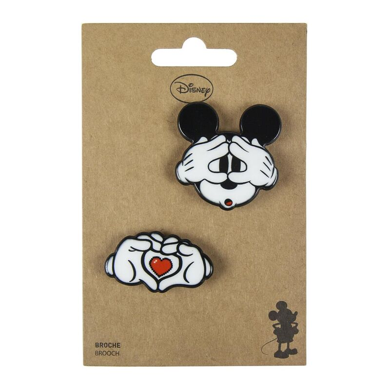 Set 2 broches Mickey Disney 8427934286423