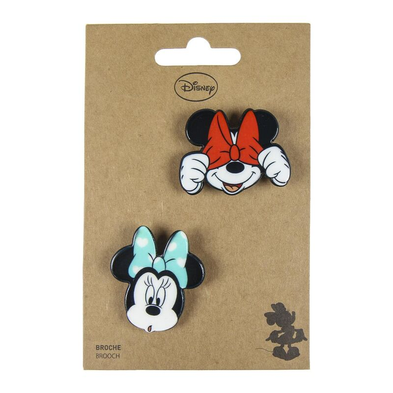 Set 2 broches Minnie Disney 8427934286485