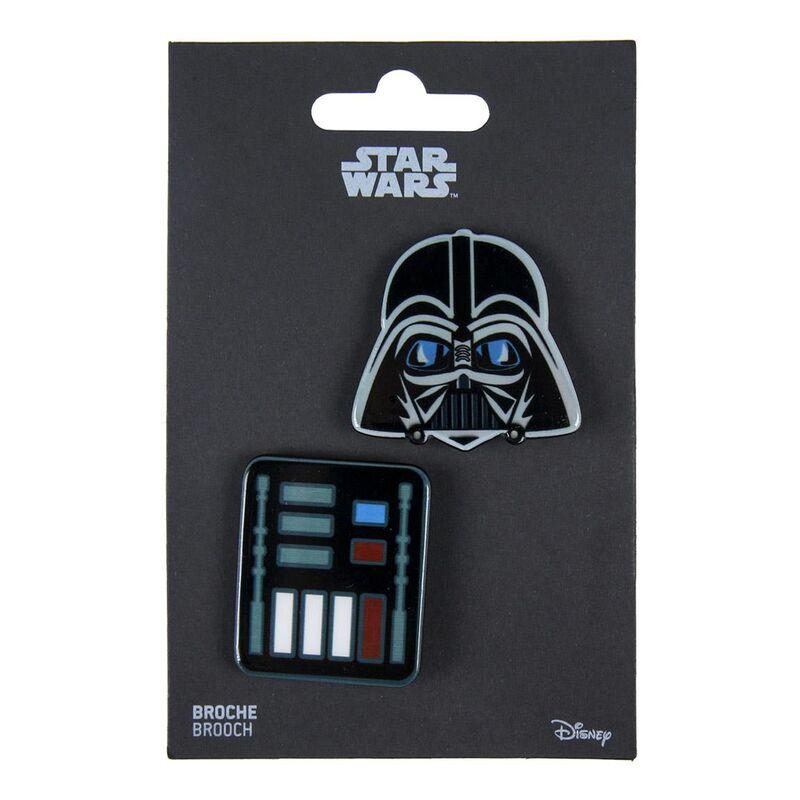Set 2 broches Darth Vader Star Wars 8427934286645