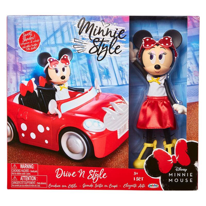 Set muñeca Minnie + coche Disney 192995209466