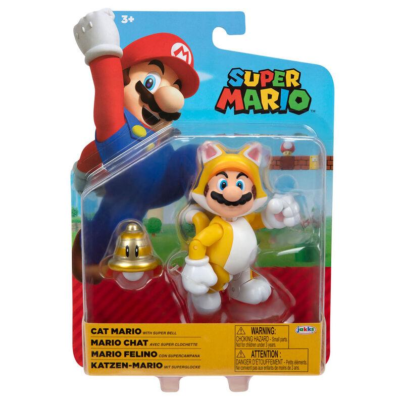 Figura Mario Felino Super Mario Nintendo 10cm 39897957197