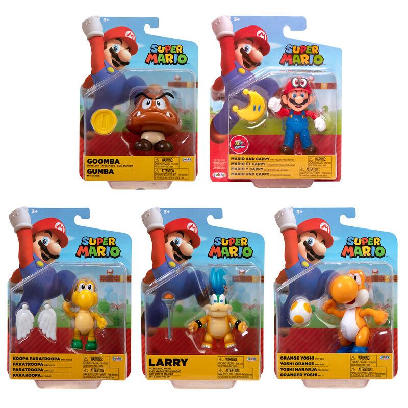Figura Super Mario Wave 24 Super Mario Nintendo 10cm surtido 192995407299