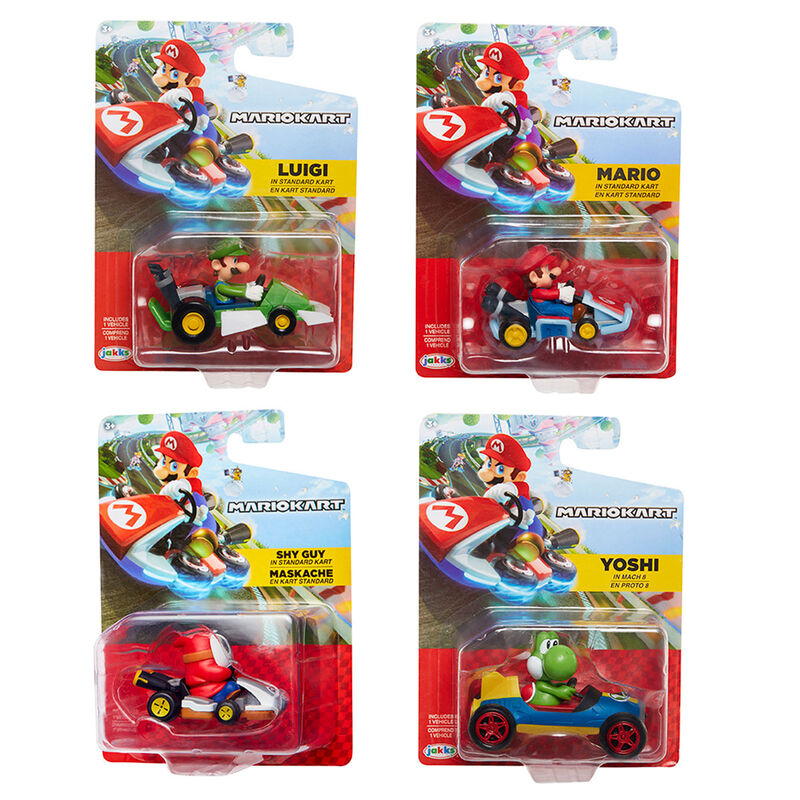 Coche Mario Kart Nintendo surtido 403034