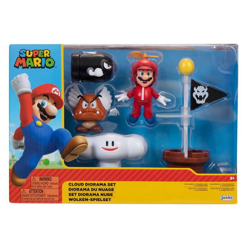 Set diorama Nube Super Mario Nintendo 192995401990