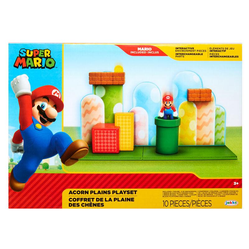 Playset Arcon Plains Super Mario Nintendo 39897859910