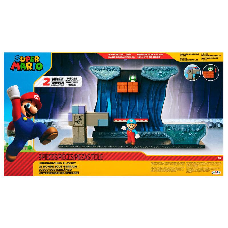 Playset Subterraneo Super Mario Nintendo 192995404274