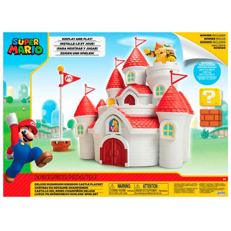 Playset Mushroom Kingdom Castle Mario Bros Nintendo 39897585413