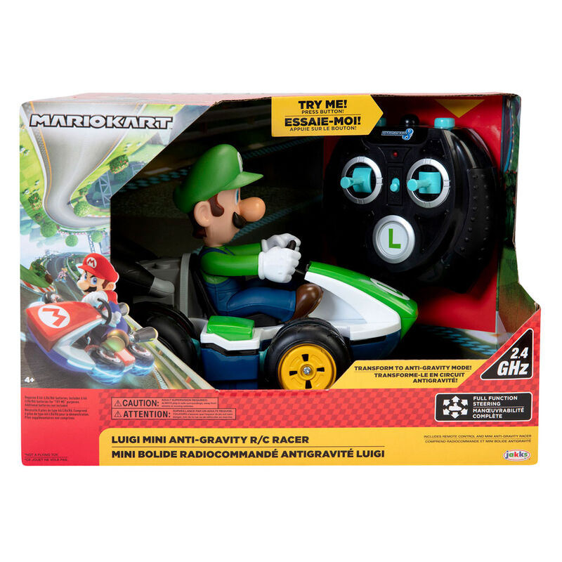 Coche Mini RC Racer Luigi Mario Kart Nintendo radio control 39897089881
