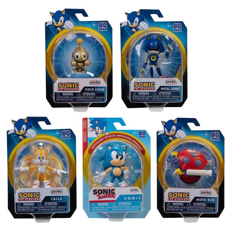 Figura Wave 23 Sonic the Hedgehog 6,5cm surtido 192995406865