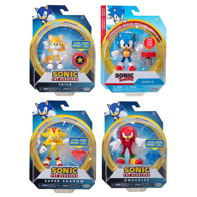 Figura Wave 4 Sonic the Hedgehog 10cm surtido 192995406988
