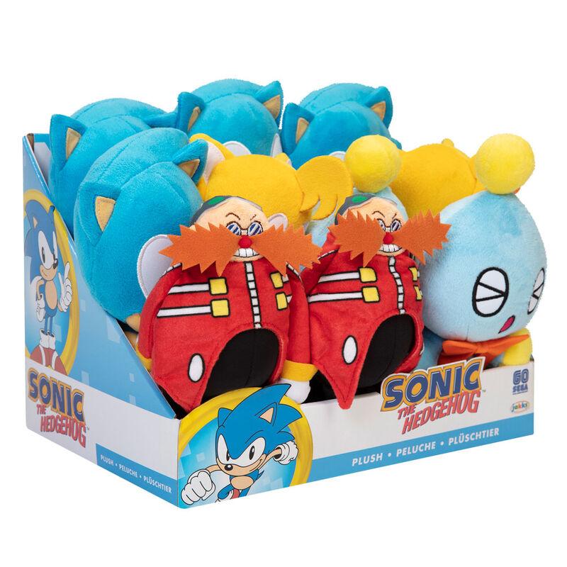 Peluche Wave 4 Sonic the Hedgehog 17,5cm surtido 192995407053