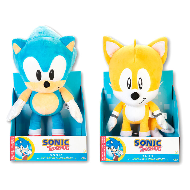 Peluche Sonic y Tails Sonic the Hedgehog 40cm surtido 192995404779