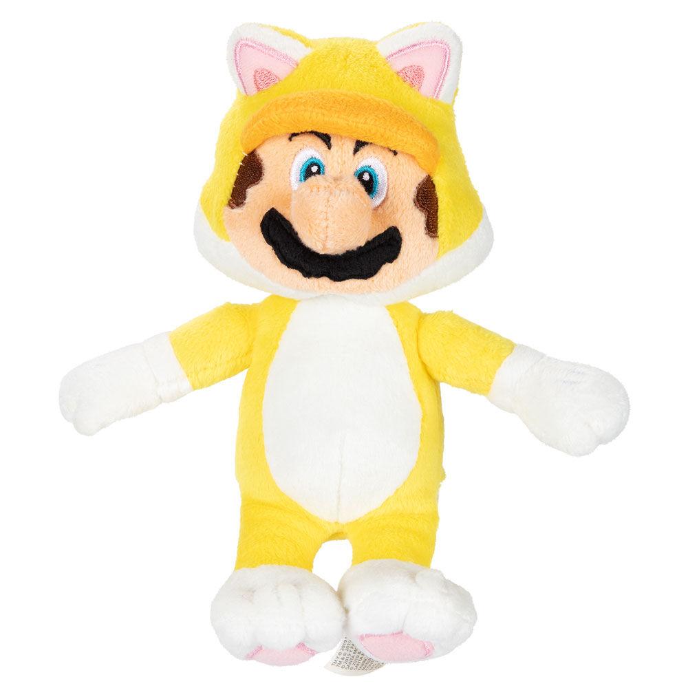 Peluche Mario Felino Super Mario Nintendo 39897833958