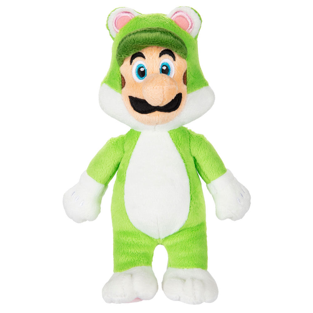 Peluche Luigi Felino Super Mario Nintendo 39897833965