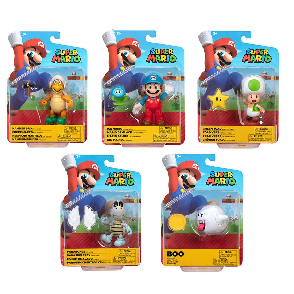 Figura Super Mario Wave 23 Super Mario Nintendo 10cm surtido 192995406780