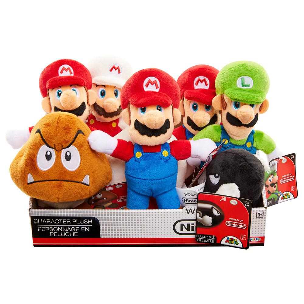 Peluche Super Mario Nintendo 20cm surtido 39897628455
