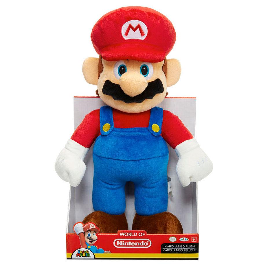 Peluche Jumbo Super Mario Nintendo 50cm 39897644561