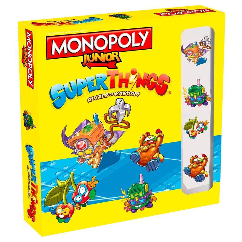 Juego monopoly Junior Superzings 5036905046169