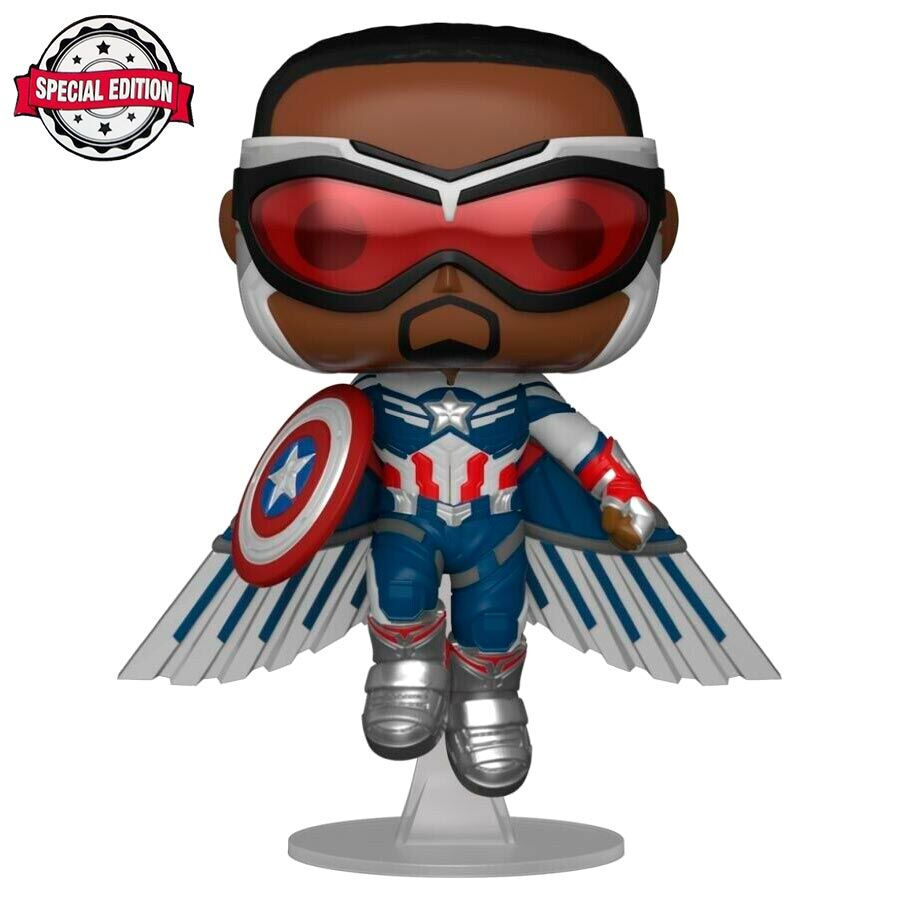 Figura POP Marvel The Falcon and the Winter Soldier Captain America Exclusive 889698516495