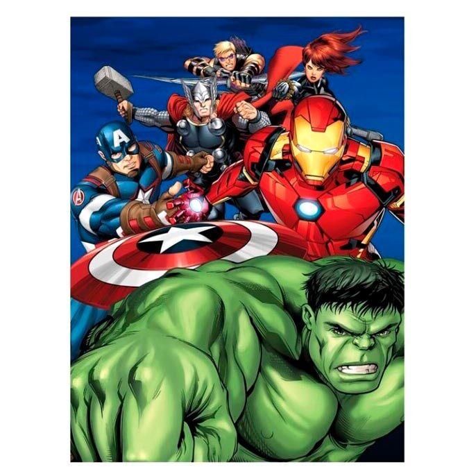 Manta polar Vengadores Avengers Marvel 5407007984978