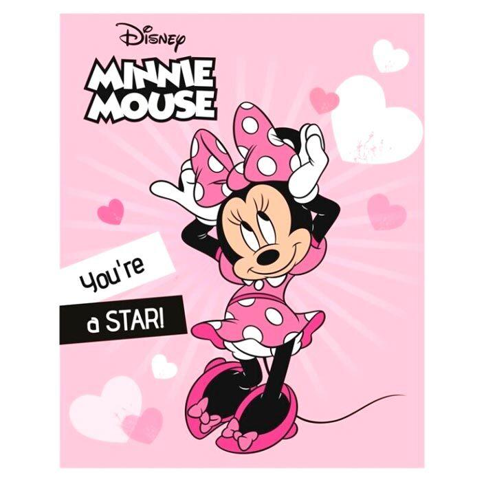 Manta polar Minnie Disney 5407007981076