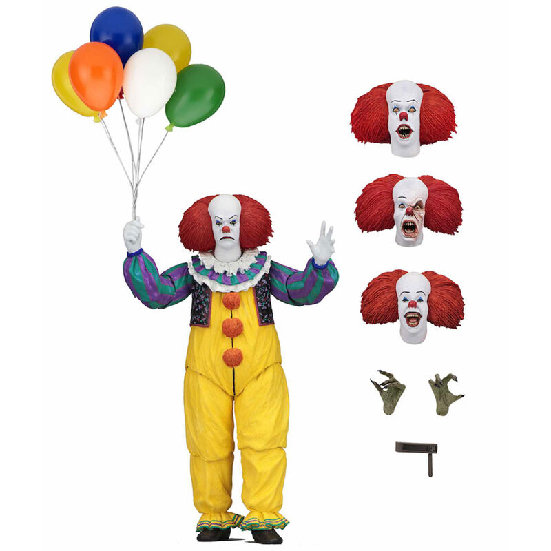 Figura Ultimate Pennywise 1990 IT 18cm 634482454602