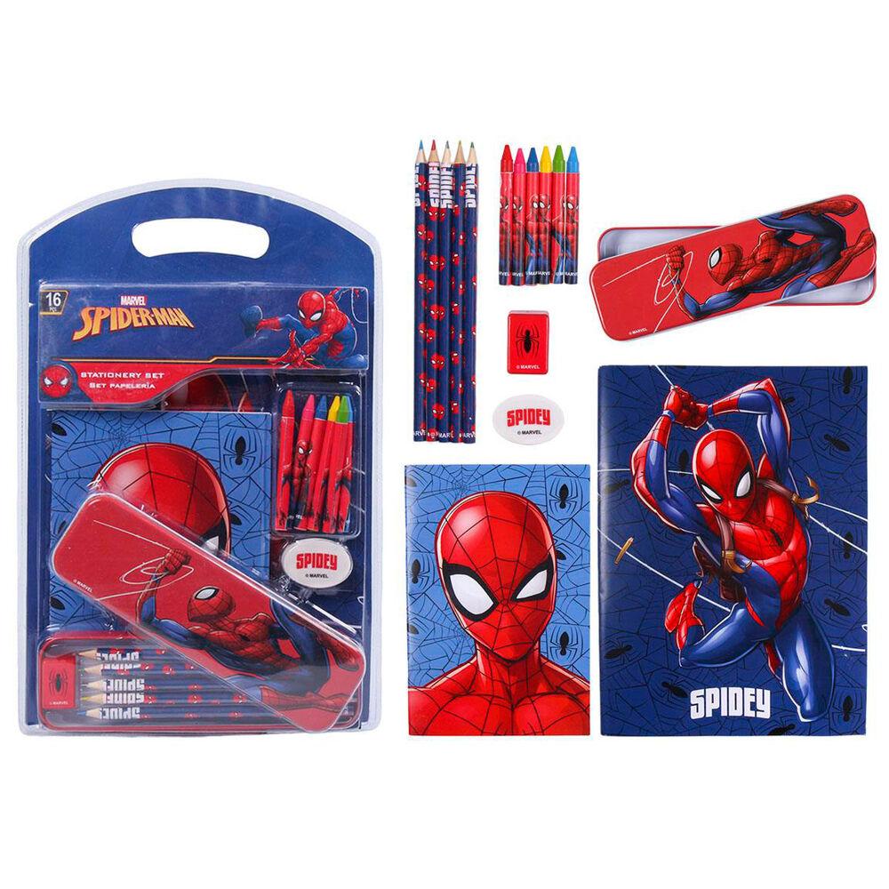 Set papeleria Spiderman Marvel 8427934589388