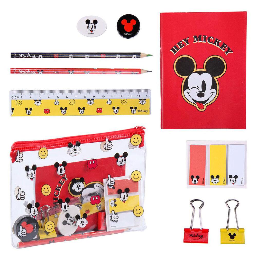 Set papeleria Mickey Disney 8427934589449