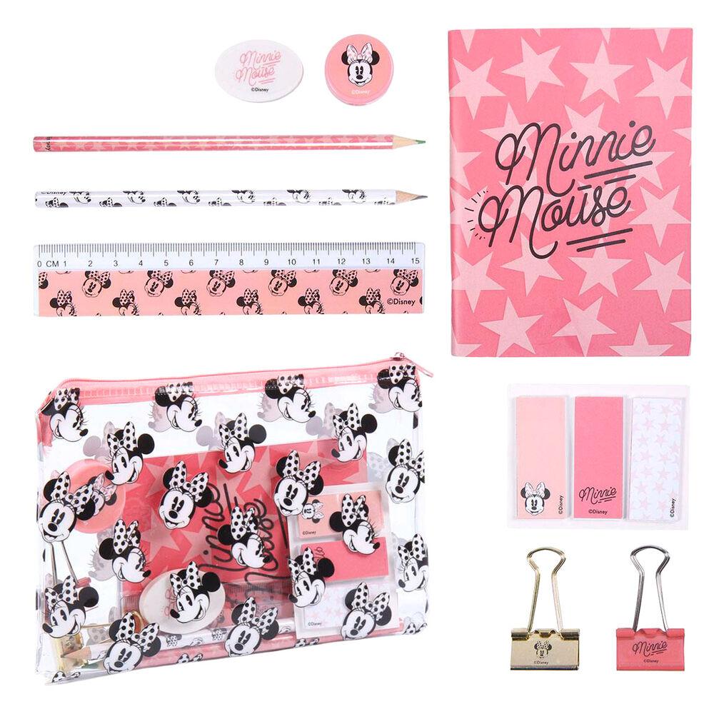 Set papeleria Minnie Disney 8427934589463