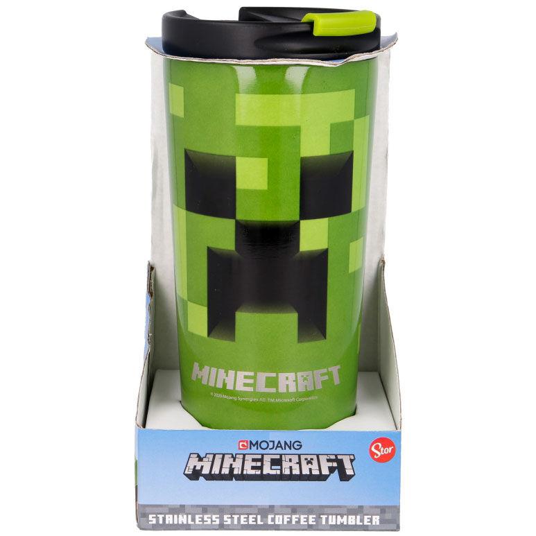 Vaso termo acero inoxidable Minecraft 425ml 8412497004423