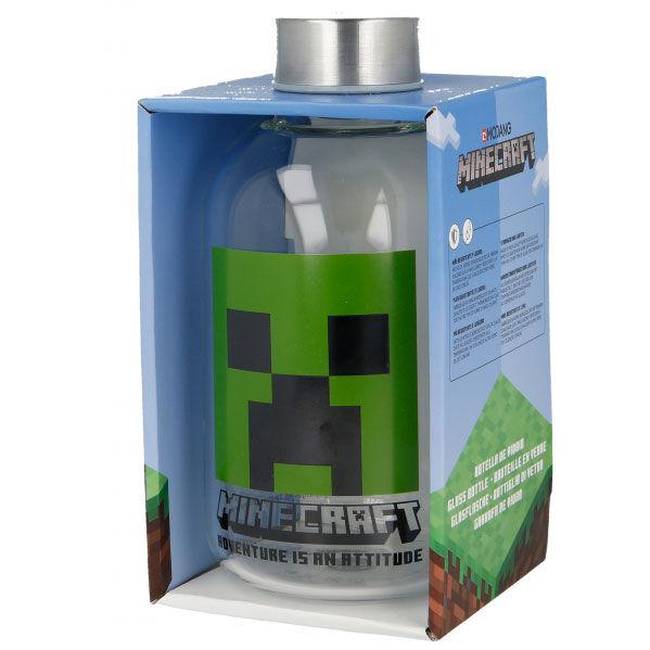 Botella cristal Minecraft 620ml 8412497004447