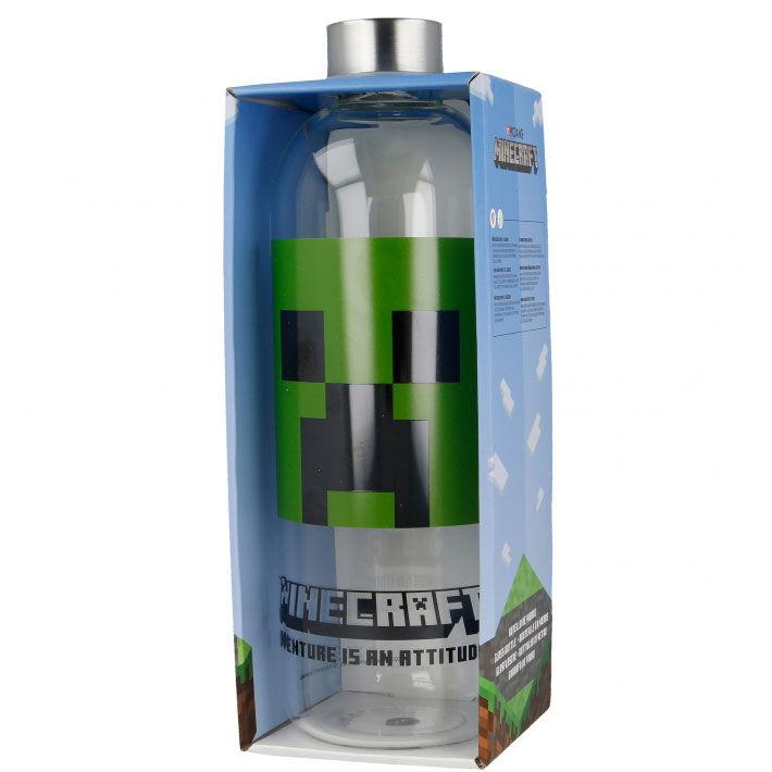 Botella cristal minecraft 1030ml 8412497004454