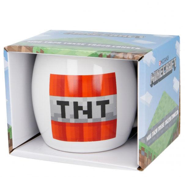 Taza ceramica Minecraft en caja 380ml 8412497004492