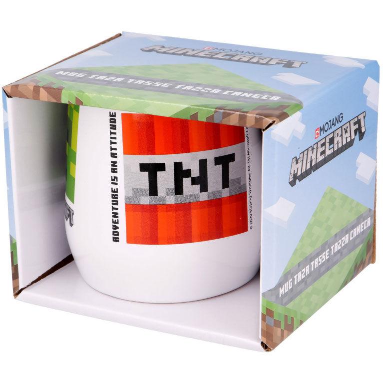 Taza ceramica Minecraft en caja 360ml 8412497004508
