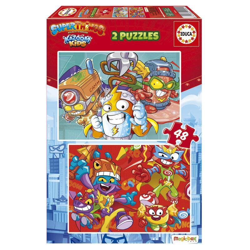 Puzzle Superzings 2x48pzs 8412668192041