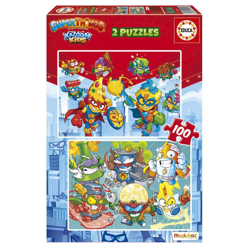 Puzzle Superzings 2x100pzs 8412668192058