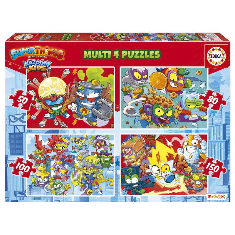 Puzzle Superzings 50-80-100-150pzs 8412668192065
