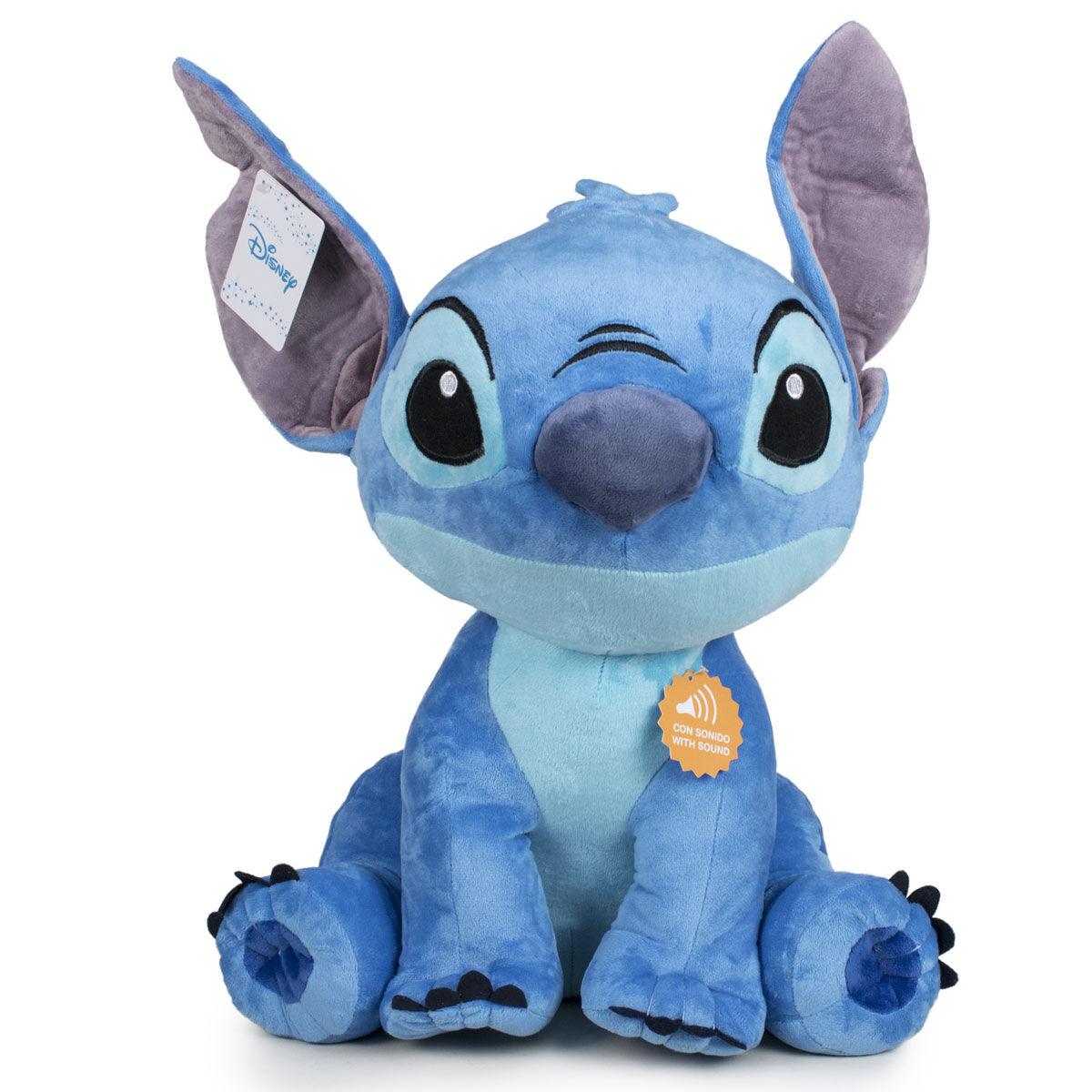 Peluche Stitch Disney sonido soft 60cm 8425611642814