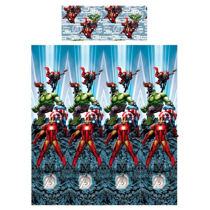 Juego sabanas Vengadores Avengers Marvel 90cm algodon 1000000047424