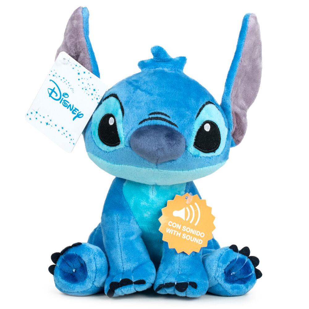 Peluche Stitch Disney soft sonido 30cm 8425611399916