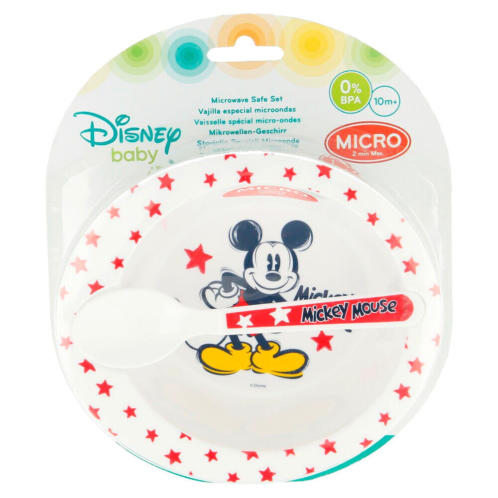 Set microondas Mickey Disney 8412497907090