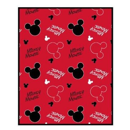 Manta Coralina Mickey Disney 5908213334668