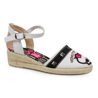 Sandalias Monster High esparto blancas