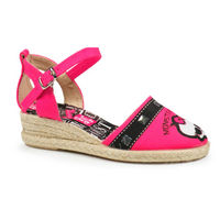 Sandalias Monster High esparto fuxia
