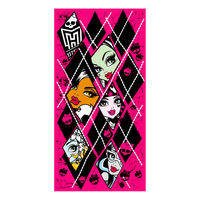 Toalla Monster High rombos