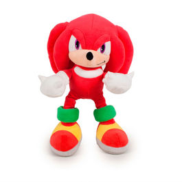 Peluche Knuckles soft Sonic T3 30cm