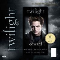 Puzzle gigante pared Edward - Crep�sculo Twilight 90x177cm