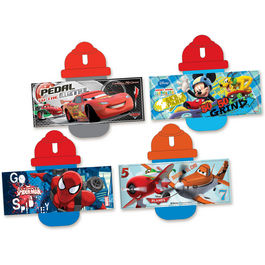 Cantimplora Mickey Cars Planes Spiderman surtido