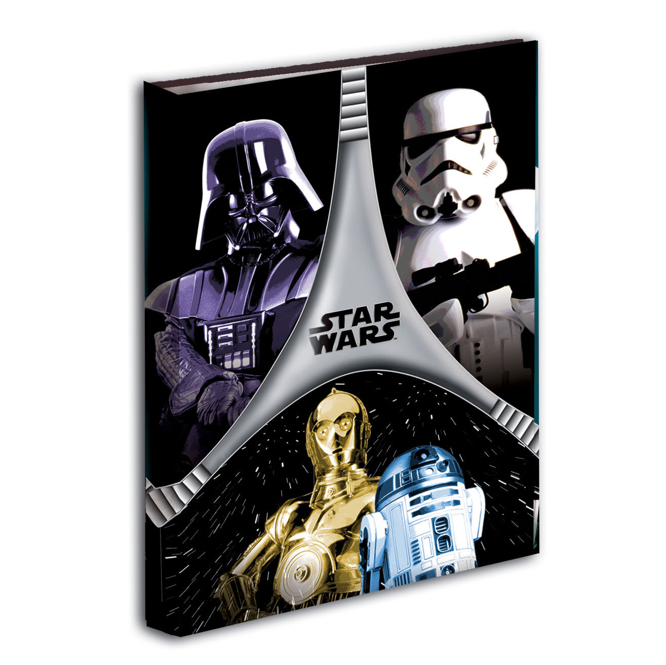 Carpeta Star Wars Flash A4 4 anillas