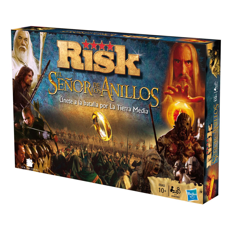 Juego Risk El Señor de los Anillos Hasbro (2)